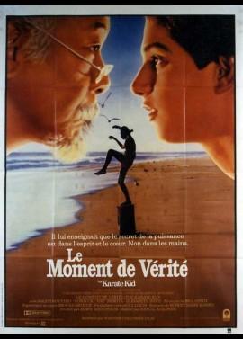 affiche du film KARATE KID LE MOMENT DE VERITE