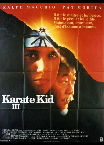 affiche du film KARATE KID 3