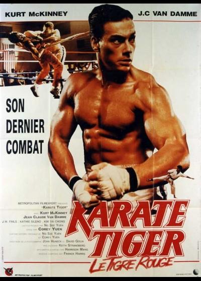 affiche du film KARATE TIGER