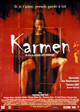 affiche du film KARMEN