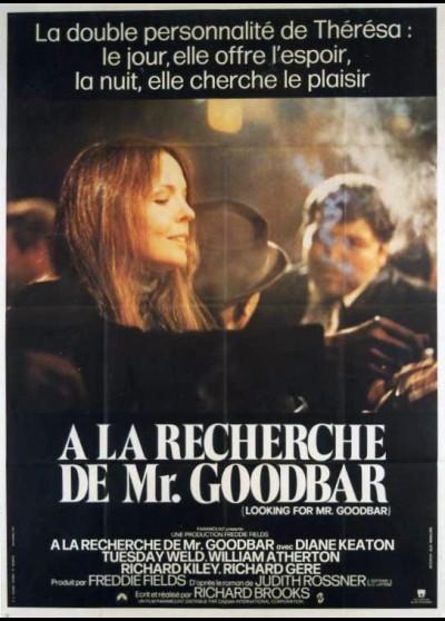 affiche du film A LA RECHERCHE DE MONSIEUR GOODBAR