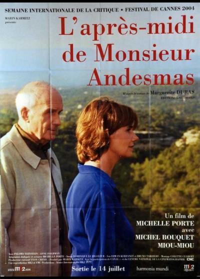 affiche du film APRES MIDI DE MONSIEUR ANDESMAS (L')