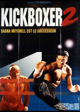 KICKBOXER 2 THE ROAD BACK movie poster