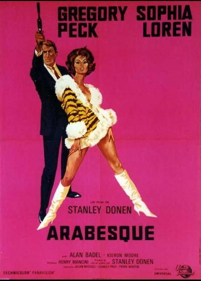 ARABESQUE movie poster