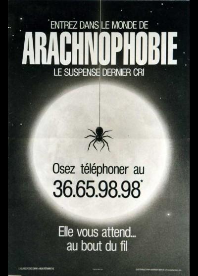 affiche du film ARACHNOPHOBIE