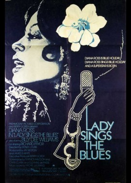 affiche du film LADY SINGS THE BLUES
