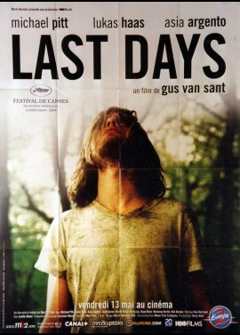 LAST DAYS movie poster