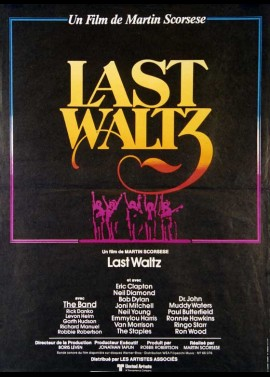 LAST WALTZ (THE) movie poster