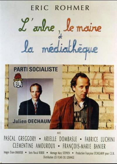 affiche du film ARBRE LE MAIRE ET LA MEDIATHEQUE (L')