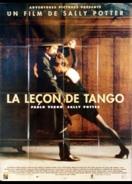 affiche du film LECON DE TANGO (LA)