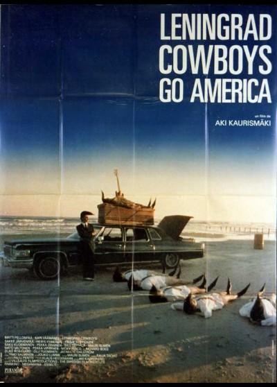 LENINGRAD COWBOYS GO AMERICA movie poster