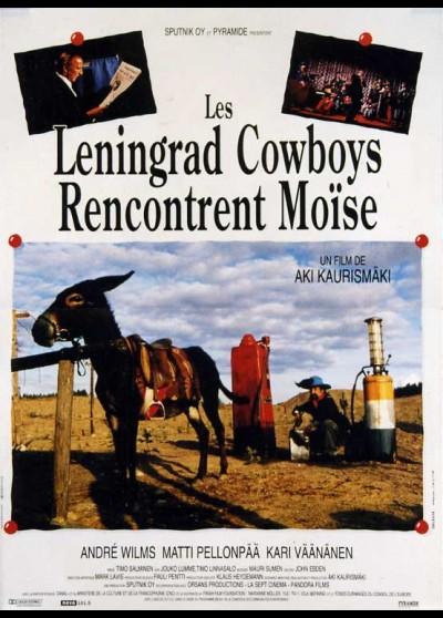 LENINGRAD COWBOYS MEET MOSES movie poster