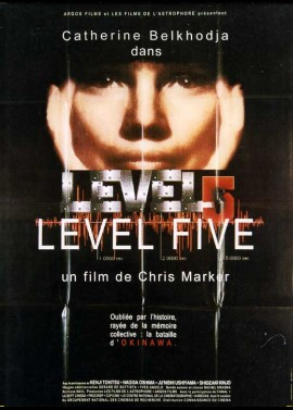 affiche du film LEVEL FIVE