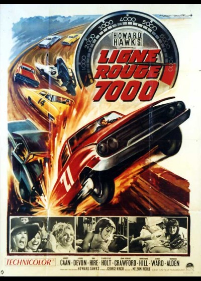 RED LINE 7000 movie poster