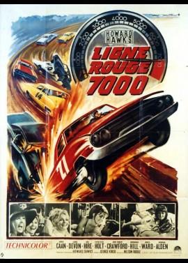 affiche du film LIGNE ROUGE 7000