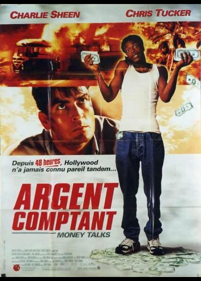 affiche du film ARGENT COMPTANT