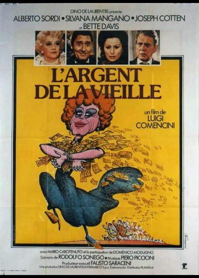 affiche du film ARGENT DE LA VIEILLE (L')