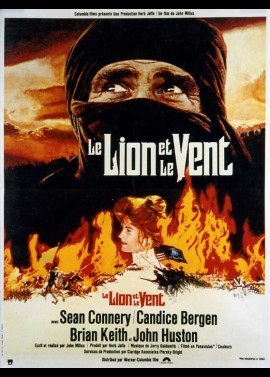 WIND AND THE LION (THE) movie poster