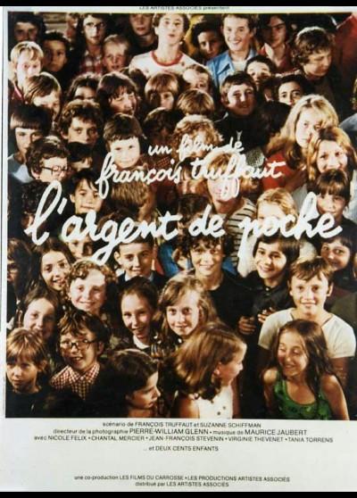 affiche du film ARGENT DE POCHE (L')