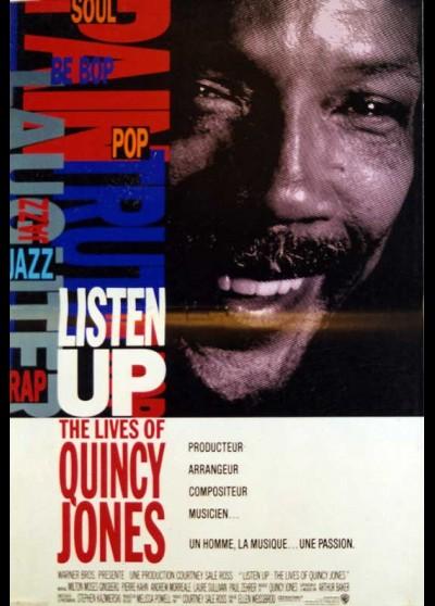 LISTEN UP THE LIVES OF QUINCY JONES movie poster