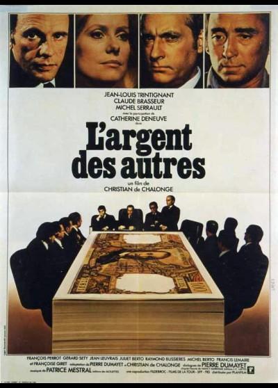 affiche du film ARGENT DES AUTRES (L')