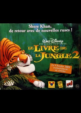 JUNGLE BOOK 2 (THE) movie poster