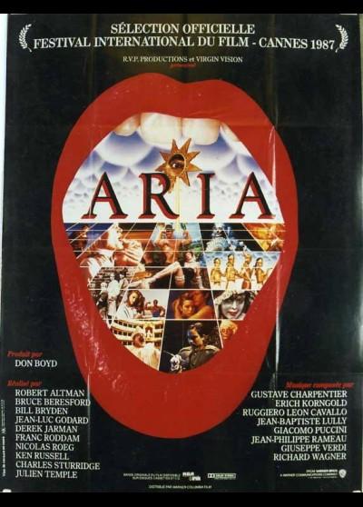 affiche du film ARIA