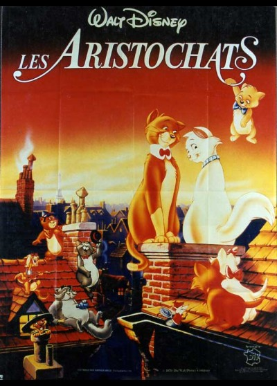 ARISTOCATS (THE) movie poster