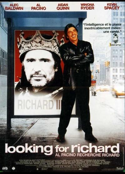 affiche du film LOOKING FOR RICHARD