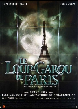 AN AMERICAN WEREWOLF IN PARIS movie poster