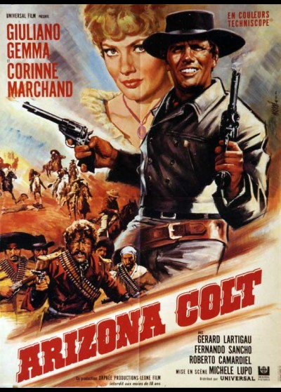 affiche du film ARIZONA COLT
