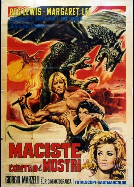 MACISTE CONTRO I MOSTRI / FIRE MONSTERS AGAINST THE SON OF HERCULES movie poster