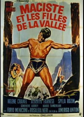 VALLE DELL'ECO TONANTE (LA) / HERCULES OF THE DESERT movie poster