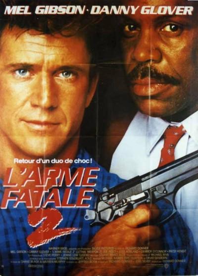 affiche du film ARME FATALE 2 (L')