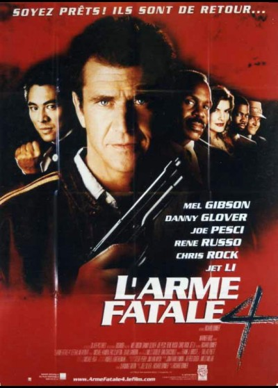 affiche du film ARME FATALE 4 (L')