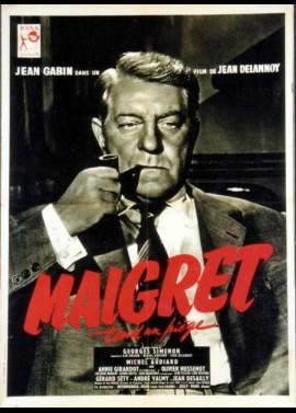 MAIGRET TEND UN PIEGE movie poster