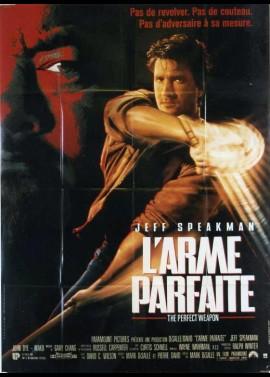 affiche du film ARME PARFAITE (L')