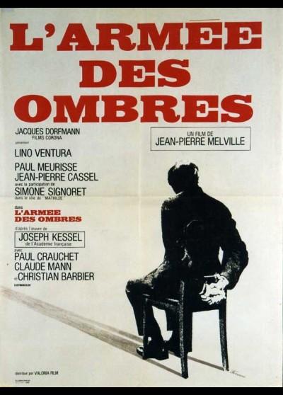 affiche du film ARMEE DES OMBRES (L')