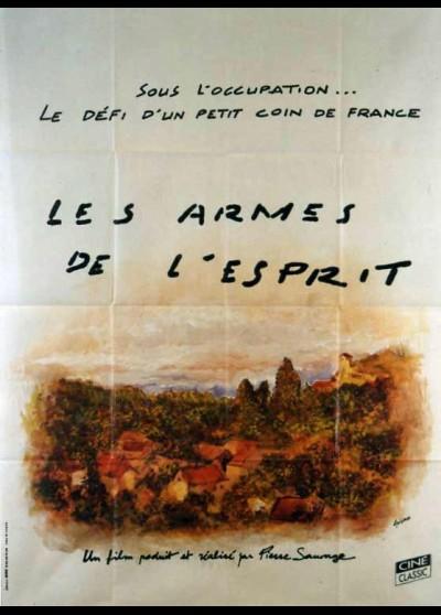 affiche du film ARMES DE L'ESPRIT (LES)
