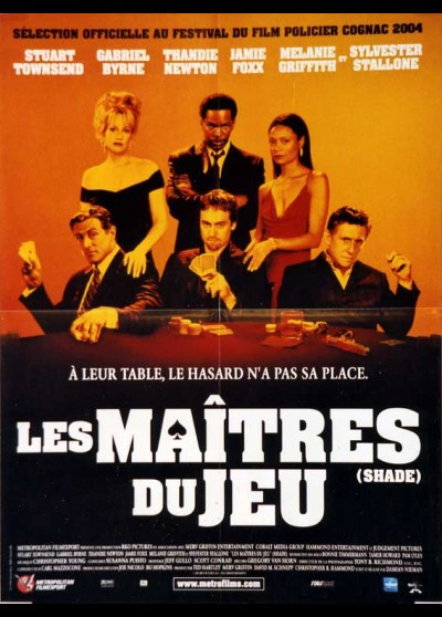 affiche du film MAITRES DU JEU (LES)
