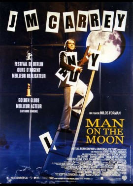 MAN ON THE MOON movie poster