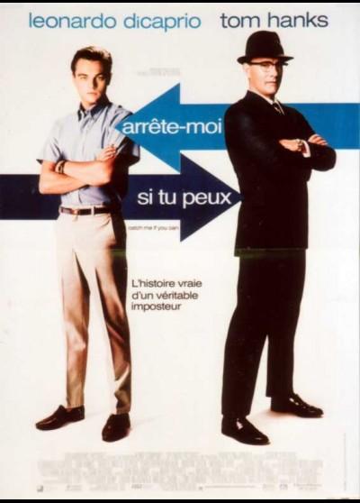 affiche du film ARRETE MOI SI TU PEUX