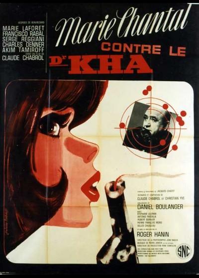 affiche du film MARIE CHANTAL CONTRE LE DOCTEUR KHA
