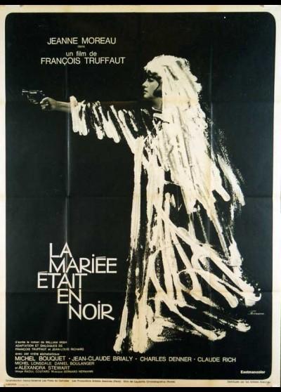 affiche du film MARIEE ETAIT EN NOIR (LA)