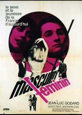 affiche du film MASCULIN FEMININ