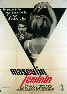 MASCULIN FEMININ movie poster
