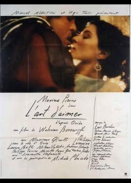 affiche du film ART D'AIMER (L')