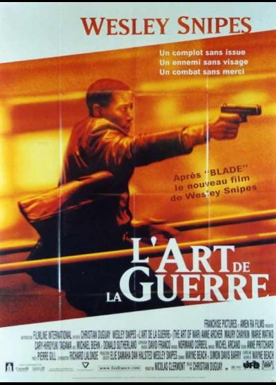 affiche du film ART DE LA GUERRE (L')