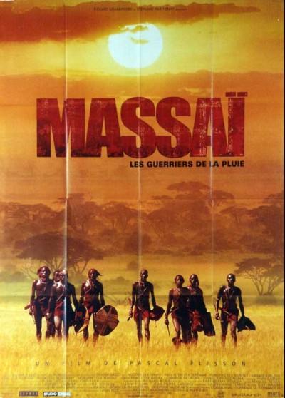 affiche du film MASSAI LES GUERRIERS DE LA PLUIE
