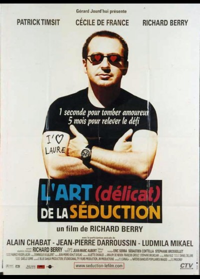 affiche du film ART DELICAT DE LA SEDUCTION (L')